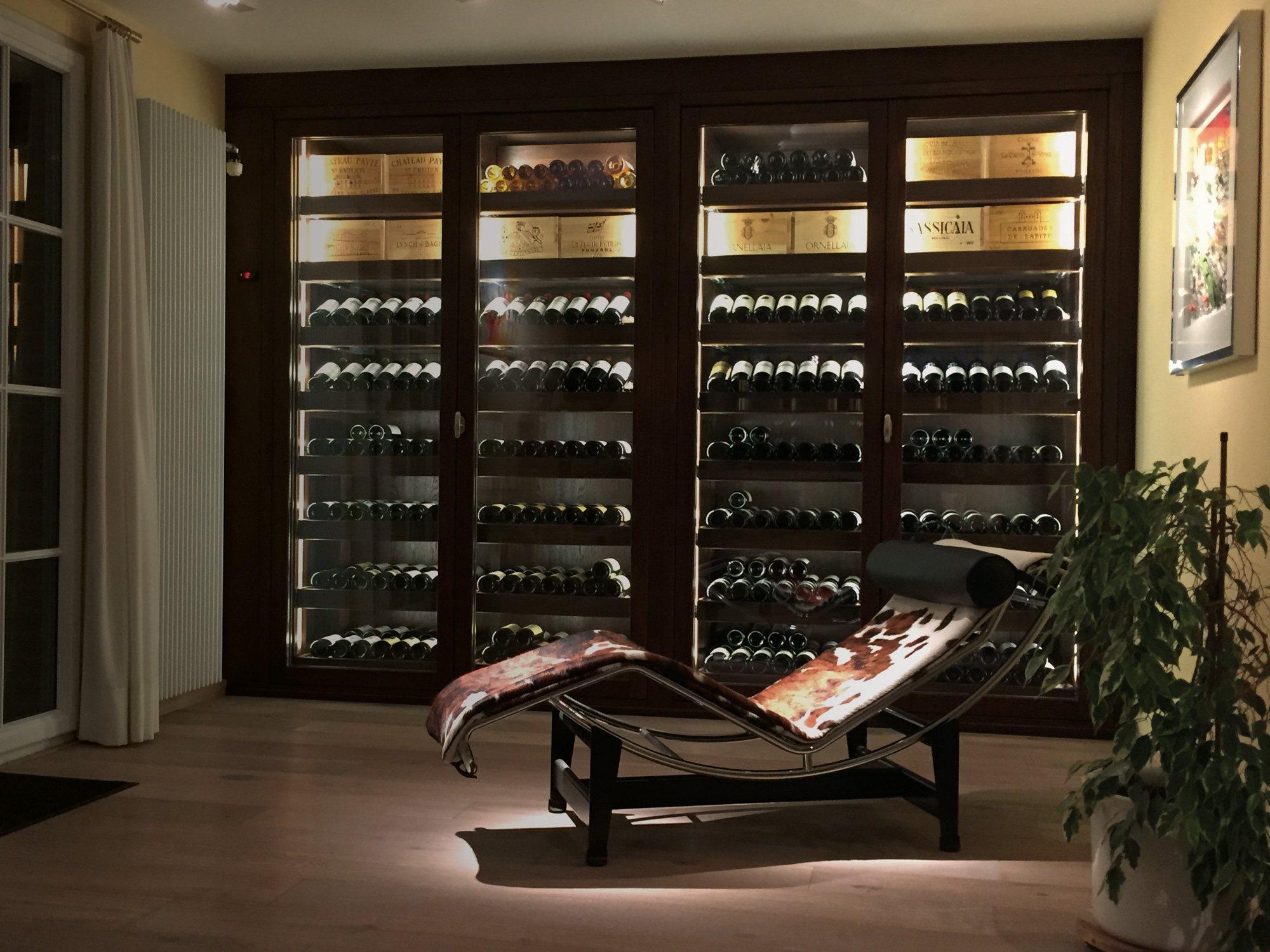Une Cave A Vin winemaster - climatiseurs de cave à vins fabriqués en france